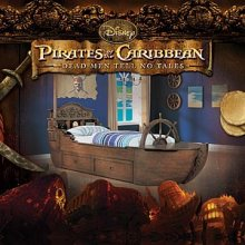 Pirates of the Caribbean Bedroom Set
